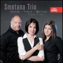 Trii per archi - CD Audio di Smetana Trio