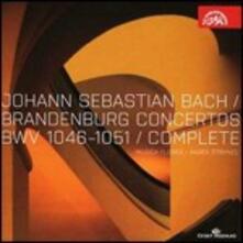 Concerti brandeburghesi - CD Audio di Johann Sebastian Bach