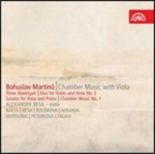 Opere da camera con viola - CD Audio di Bohuslav Martinu