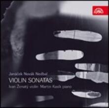 Sonate per violino - CD Audio di Leos Janacek,Vitezslav Novak,Oskar Nedbal,Ivan Zenaty