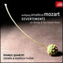Divertimenti per archi e corni - CD Audio di Wolfgang Amadeus Mozart