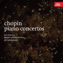 Concerti per pianoforte n.1, n.2 - CD Audio di Fryderyk Franciszek Chopin,Jiri Belohlavek,Jan Simon
