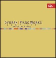 Musica per pianoforte completa - CD Audio di Antonin Dvorak,Radoslav Kvapil