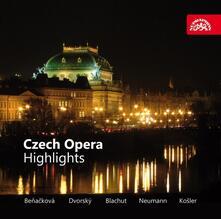 Czech Opera Highlights - CD Audio