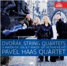 Quartetti per archi n.12, n.13 - CD Audio di Antonin Dvorak,Pavel Haas Quartet