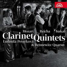Quintetti con clarinetto - CD Audio di Wolfgang Amadeus Mozart,Antonin Reicha,Ondrej Kukal,Bennewitz Quartet