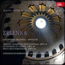 Sepolcri - CD Audio di Jan Dismas Zelenka,Collegium Marianum