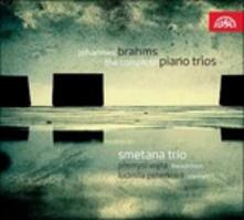 Trii con pianoforte completi - CD Audio di Johannes Brahms,Smetana Trio
