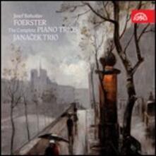 Trio con pianoforte - CD Audio di Josef Bohuslav Foerster,Janacek Trio