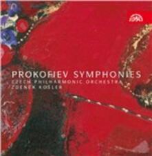 Sinfonie complete - CD Audio di Sergej Sergeevic Prokofiev,Czech Philharmonic Orchestra,Zdenek Kosler