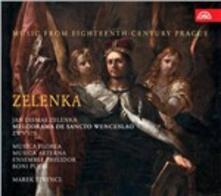 Melodrama de Sancto Wenceslao - CD Audio di Jan Dismas Zelenka