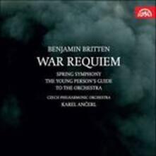 War Requiem - Spring Symphony - CD Audio di Benjamin Britten