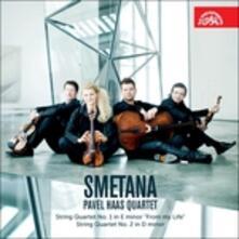 Quartetti per Archi n.1 & 2 - CD Audio di Bedrich Smetana