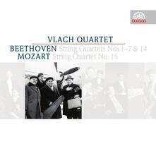 String Quartets - CD Audio di Ludwig van Beethoven,Wolfgang Amadeus Mozart