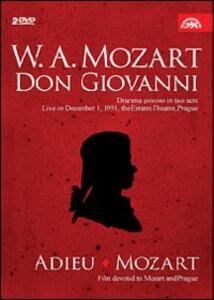 Wolfgang Amadeus Mozart. Don Giovanni (2 DVD) di David Radok - DVD
