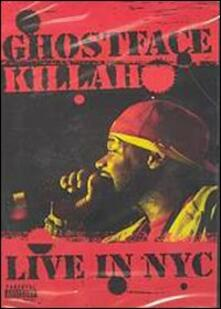 Ghostface Killah. Live in NYC - DVD