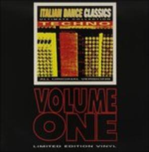 Italian Dance Classics. Techno vol.1 - Vinile LP