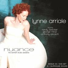 Nuance. The Bennett Studio Sessions - CD Audio + DVD di Lynne Arriale