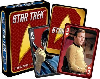 Giocattolo Carte da Gioco Star Trek. Cast Aquarius