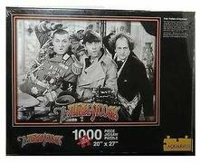 "Three Stooges 1000 Piece Puzzle 20""X27"" 200"