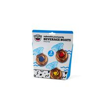 Beverage Boat Bling Rings Pack 3 Pz. Big Mouth (Bmdf-Br)
