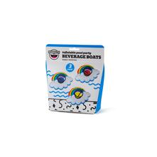 Beverage Boat Rainbows Pack 3 Pz. Big Mouth (Bmdf-Rb)