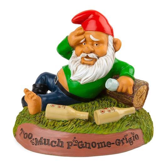 Big Mouth: Gnome Hungover Garden. Gnomo Da Giardino
