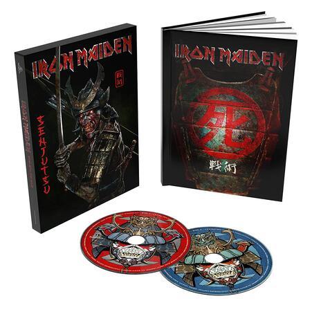 Senjutsu (2 CD Deluxe Book Format Edition) - CD Audio di Iron Maiden - 2