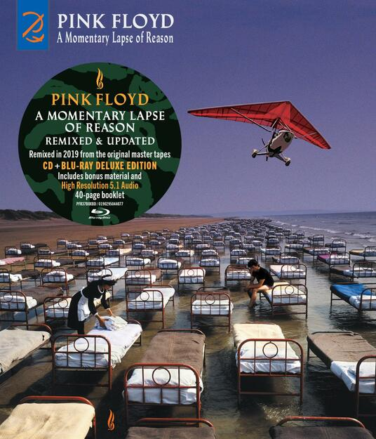 A Momentary Lapse of Reason (Remixed & Updated) (CD Audio + Blu-ray) - CD Audio + Blu-ray di Pink Floyd