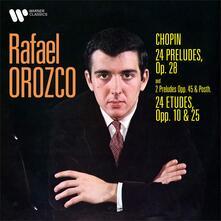 Studi e preludi - CD Audio di Fryderyk Franciszek Chopin,Rafael Orozco