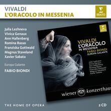 L'oracolo in Messenia - CD Audio di Antonio Vivaldi,Fabio Biondi,Europa Galante,Vivica Genaux,Ann Hallenberg,Julia Lezhneva,Julia Lehzneva