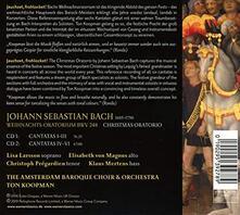 L'Oratorio di Natale - CD Audio di Johann Sebastian Bach
