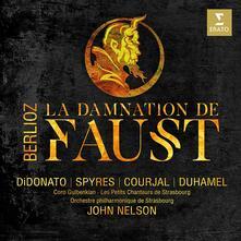 La damnation de Faust - CD Audio + DVD di Hector Berlioz,John Nelson,Joyce Di Donato,Orchestra Filarmonica di Strasburgo