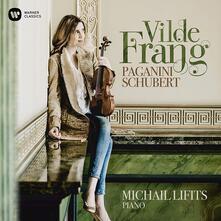 Paganini / Schubert - CD Audio di Niccolò Paganini,Franz Schubert,Vilde Frang,Michail Lifits