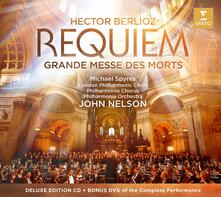 Requiem. Grande messe des mort - CD Audio + DVD di Hector Berlioz,John Nelson,Philharmonia Orchestra