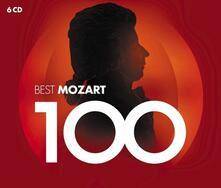 100 Best Mozart - CD Audio di Wolfgang Amadeus Mozart
