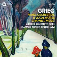 Piano, Orchestral & Vocal Works Chamber Music (Box Set) - CD Audio di Edvard Grieg