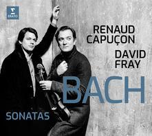 Sonate per violino e pianoforte - CD Audio di Johann Sebastian Bach,Renaud Capuçon,David Fray