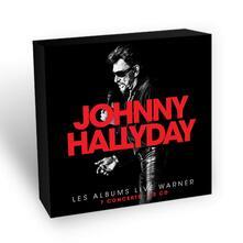 Les années Live Warner - CD Audio di Johnny Hallyday