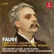 Musica per pianoforte - Musica da camera - Requiem (Box Set) - CD Audio di Gabriel Fauré,Michel Plasson,Jean-Philippe Collard