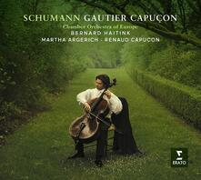Concerto per violoncello op.129 - Musica da camera - CD Audio di Robert Schumann,Bernard Haitink,Martha Argerich,Gautier Capuçon,Chamber Orchestra of Europe