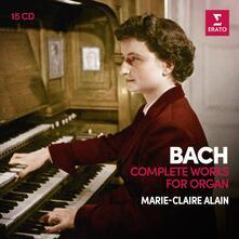 Musica completa per organo (Box Set) - CD Audio di Johann Sebastian Bach,Marie Claire Alain