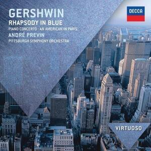 Rapsodia in blu - Un americano a Parigi - Vinile LP di George Gershwin,André Previn