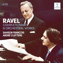 Musica completa per pianoforte e orchestra (Box Set) - CD Audio di Maurice Ravel,André Cluytens,Samson François