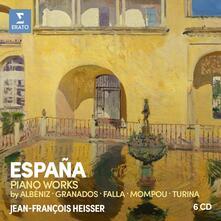 España (Box Set) - CD Audio di Manuel De Falla,Enrique Granados,Isaac Albéniz,Jean-François Heisser