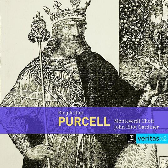 Re Artù (King Arthur) - CD Audio di Henry Purcell,John Eliot Gardiner,Monteverdi Choir