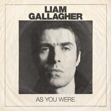 As You Were (Deluxe Edition) - CD Audio di Liam Gallagher