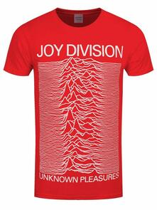 T-Shirt Unisex Joy Division. Unknown Pleasures Slim. Taglia XL