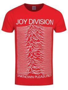T-Shirt Unisex Joy Division. Unknown Pleasures Slim. Taglia L