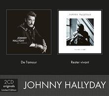 De L'amour-Rester Vivant - CD Audio di Johnny Hallyday
